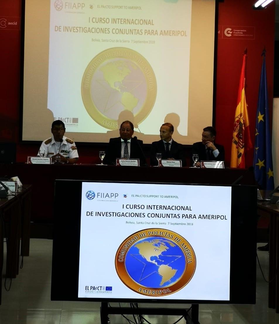 (Español) Primer curso Internacional sobre Investigaciones Conjuntas para AMERIPOL