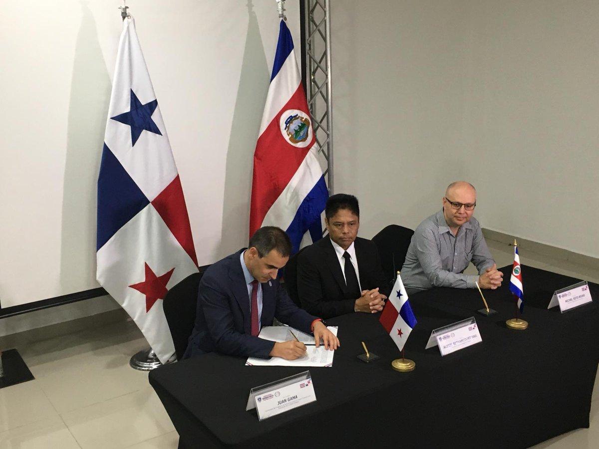 Costa Rica, Panamá y EL PAcCTO firman un compromiso para crear un Centro Latinoamericano de Cooperación Policial