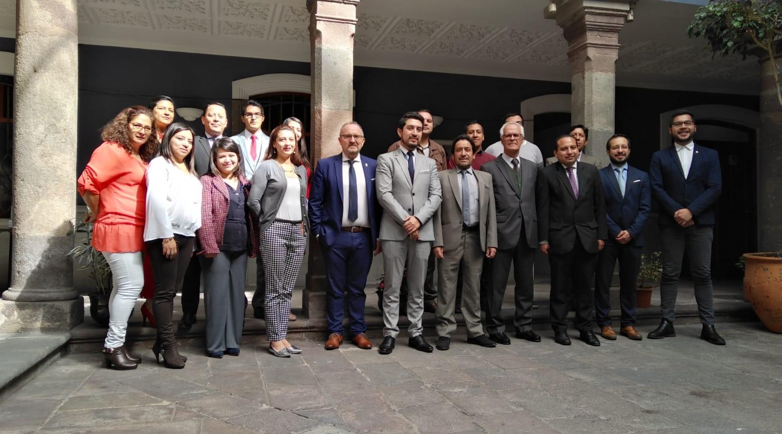 Asesoría para la constitución de un EME sobre Trata de Seres Humanos en Quito