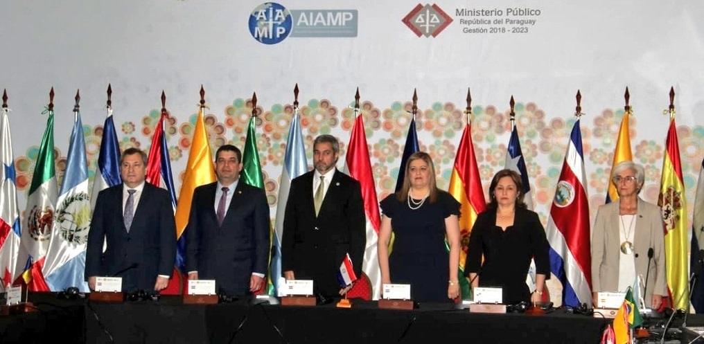 XXVII Asamblea General de la Asociación Iberoamericana de Ministerios Públicos (AIAMP)