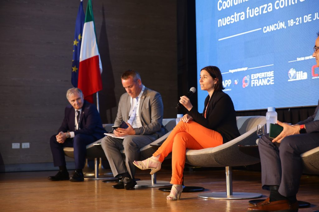 Vania Bonalberti, de la Comisión Europea, cierra el Encuentro de Programa 2019