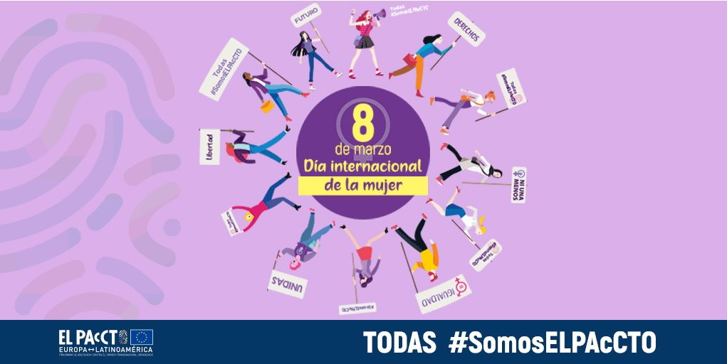 Infografía para reivindicar el Día de la Mujer