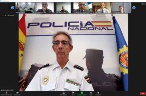 Ponente Comisario Principal Manuel Yanguas, Jefe de la Unidad Central de Seguridad Privada. Comisaría General de Seguridad Ciudadana. Policía Nacional España