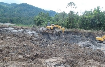 Operation APOLO against illegal gold mining in Colombia