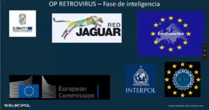 Colaboradores en la Operación Retrovirus