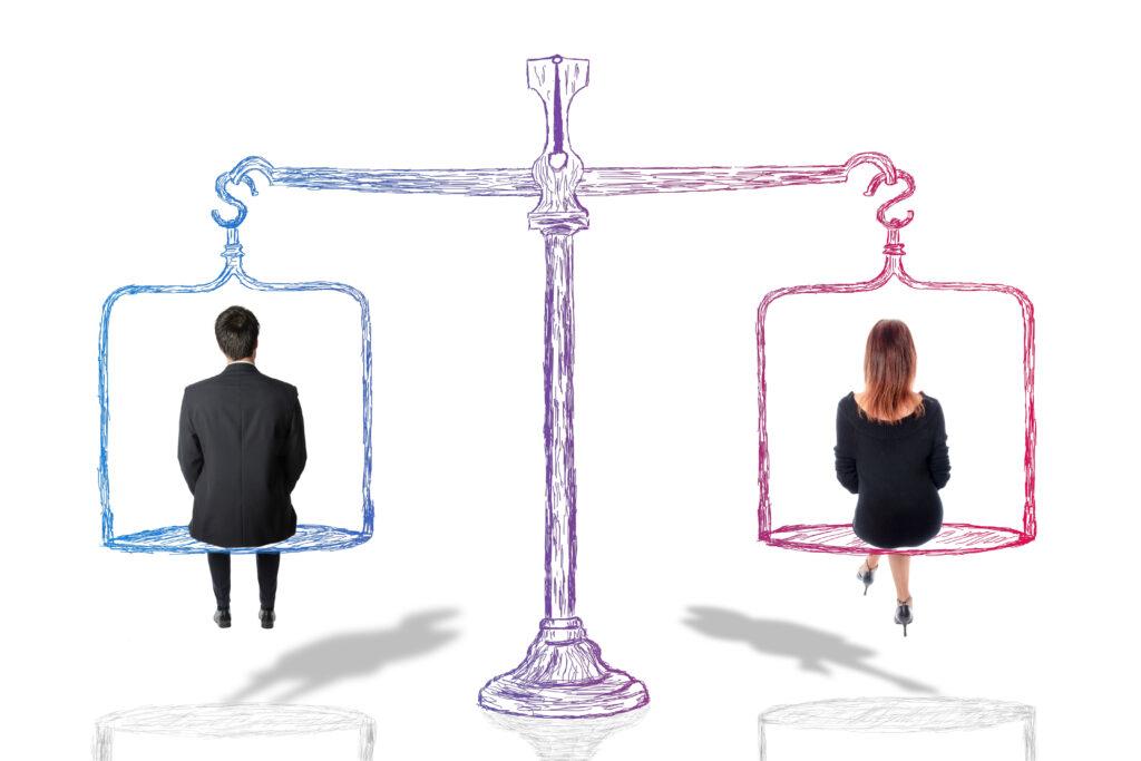 Concepto de igualdad entre hombres y mujeres