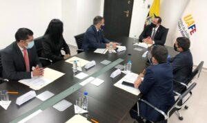 Reunión en Ecuador