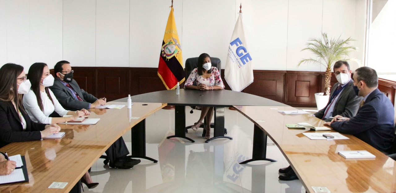 EL PAcCTO meets with the highest authorities of the institutions responsible for the fight against crime in Ecuador