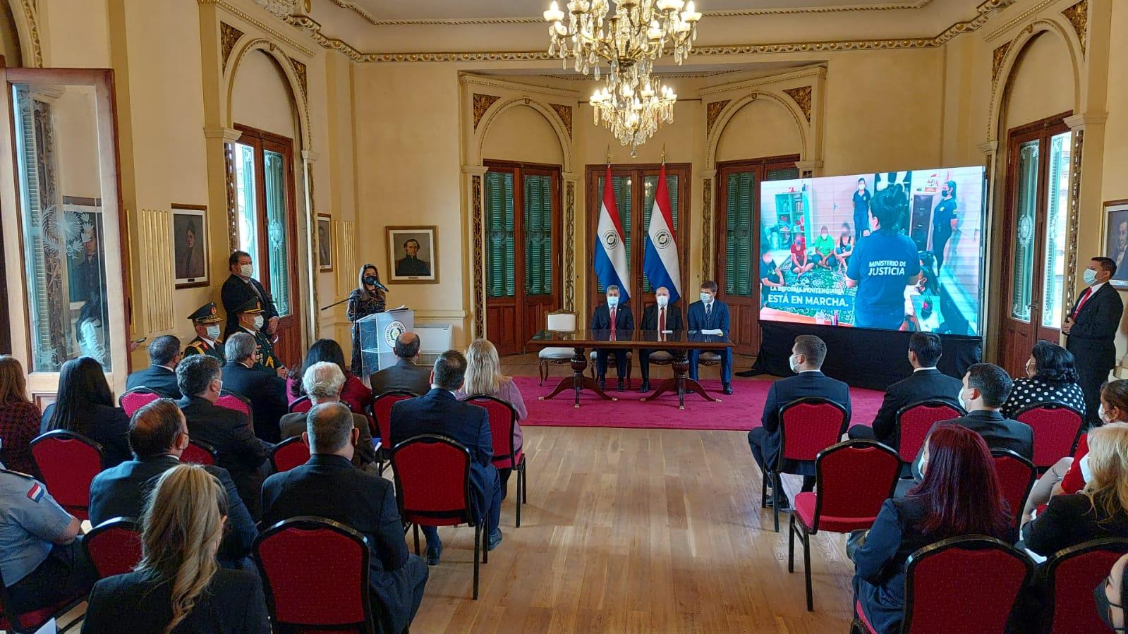 (Español) Lanzamiento del Instituto Técnico Superior de Educación y Formación Penitenciaria en Paraguay